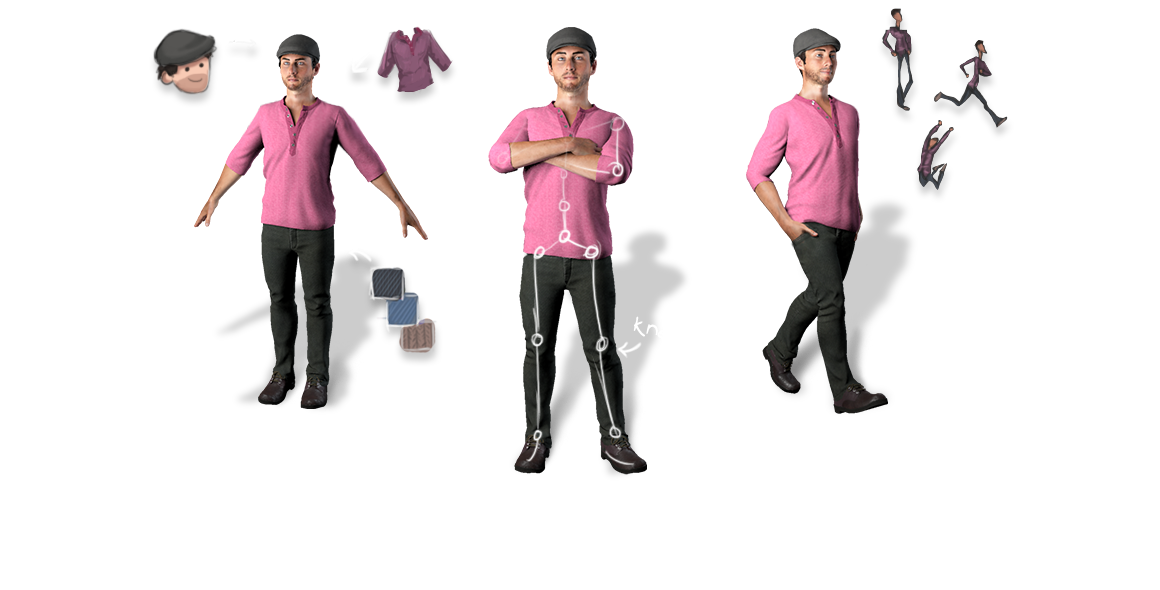 creating your characters is easy with mixamos 3d animation software